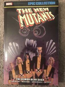 Marvel Epic Collection New Mutants Vol 2 The Demon Bear Saga