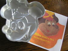 Wilton Disney MICKEY MOUSE Band Leader Cake Pan Mold #515-302 w/ Instructions