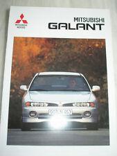 Mitsubishi Galant brochure Mar 1996 German text