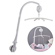 Baby Crib Mobile Hanging Bed Bell Holder Toy Arm Bracket Wind-up Music Box DIY