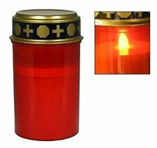 Wholesale 7 X Grave candle for Cemetery Grave light with Lighting LED