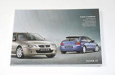 buy rover 25 model car manuals and literature ebay rh ebay co uk Land Rover Series 3 Rover 200 Rod Bearing Inside