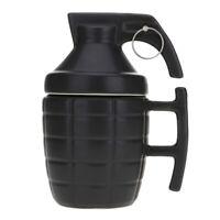 3D Army Dummy Grenade Mug Porcelain Mug Ceramic Coffee Tea Cup Funny Gift 280ML