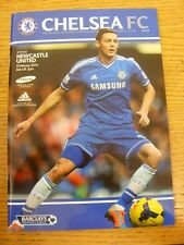 08/02/2014 Chelsea v Newcastle United  . Condition: Listed previously in bracket