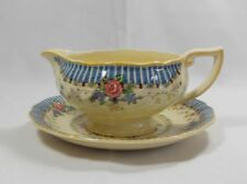 Royal Doulton The Vernon D5124 Round Gravy Boat with Underplate