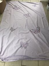 Next Single Lilac Butterfly Duvet Cover And Pillow Case