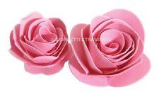 Fustella fustelle Rosa rose Fiori fiore 3D feltro pelle Big shot Sizzix 656545