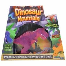 Dinosaur Mountain, Junior Press Out & Build Gift Box Ages 3+, activity Book set