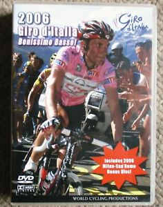 2006 Giro d'Italia San Remo World Cycling Productions 4 DVD 5 hrs Very Clean