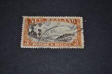 NOUVELLE ZELANDE 1935 3 shilling oblitéré