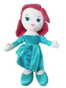The Little Mermaid Ariel Plush Soft Toy Teddy Princess