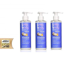 Lottabody Coconut & Shea Oils Moisturize Me Curl & Style Milk 8oz (Pack of 3)+SB