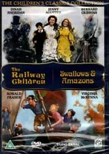 The Railway Children / Swallows and Amazons (new & sealed 2xDVD)