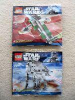LEGO Star Wars - Rare - Brickmaster - AT-AT Walker 20018 & Slave I 20019 - New