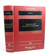Criminal Law : Case Studies and Controversies by Paul H. Robinson 2012 Third Ed