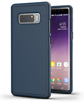 Samsung Galaxy Note 8 Slim Protective Grip Case SD46BL Blue