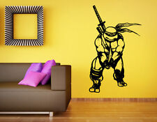 Ninja Turtles Wall Decal TMNT Vinyl Sticker Comics Hero Home Wall Decor (020n)