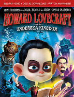 Howard Lovecraft and the Undersea Kingdom (Blu-ray Disc, 2017, 2-Disc Set) NEW