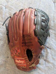 *MINTY* custom SG76 Rawlings MIJ Leather Baseball Glove Japan - NEW Laces