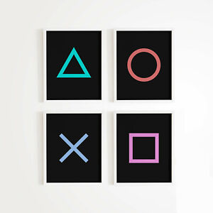 Game Room Décor PlayStation Gaming poster