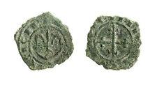pcc1748_4)  Carlo I d' Angiò  Denaro. Giglio su crescente / Croce. Sp.46-47