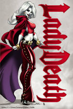 "Lady Death Gallery #1 ""Crimson Turnaround PROFILE""  Ltd. Ed . Comic Book"