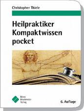 Heilpraktiker Kompaktwissen pocket|Christopher Thiele|Broschiertes Buch|Deutsch