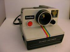 Polaroid SX 70 Rainbow Stripe Vintage One Step Instant SX 70 Film RETRO Vintage