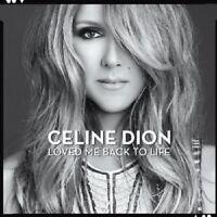 CÉLINE DION - LOVED ME BACK TO LIFE  CD  13 TRACKS  INTERNATIONAL POP  NEU