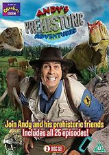 Andy s Prehistoric Adventures - The Complete Series  3 DVD Set All 25 Episodes
