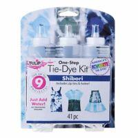 Tulip One Step 3 Colour Dye kit Shibori -Sky ,Grey,Indigo Blue