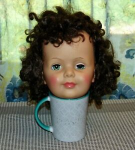 1960's PATTI PLAYPAL Head Only HIGH COLOR! G-35 Ideal Doll