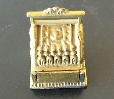 """Collectible Miniature Dollhouse Cast Iron or Metal Cash Register 1 1/2"""" High"""