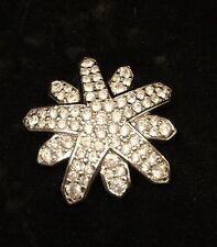 Swarovski Signature Jewelry Snowburst Snowflake Pin St New In Box