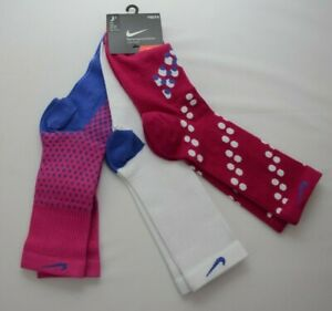 Nike Performance Cotton Crew Socks Youth Size M (5Y-7Y) New with Tags SX4711 957