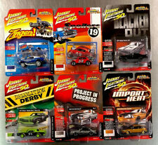 JOHNNY LIGHTNING STREET FREAKS ZINGERS MONTE MUSTANG ( SET OF 6 )  VERSION A