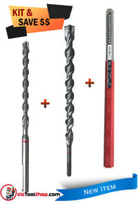 Hilti 18mm x 200mm, 32mm x 450mm, 14mm x 400 Rotary Hammer Drill Bit Set