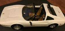 "Vintage 1986 Mattel Barbie White FERRARI 328 Convertible White Sports Car 21"""