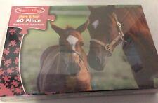 Horses #1355 Melissa & Doug 60 Pieces Jigsaw Puzzle