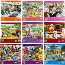 Corner Piece Puzzles - 500 Piece Jigsaw Puzzles - Various Titles to Choose From