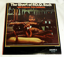 Professor Peter Schickele: Wurst of P.D.Q. Bach [Unplayed Copy; 2-LP's]
