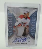 2015-16 The Cup Noah Hanifin  Rookie RC Autograph Auto Jersey Patch 132 /249