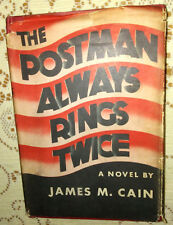 James Cain THE POSTMAN ALWAYS RINGS TWICE 1945  RARE