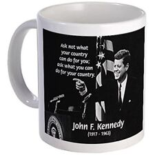 11oz mug Famous Quote from JFK