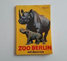 Wegweiser durch den zoologischen Garten Berlin und sein Aquarium 1982