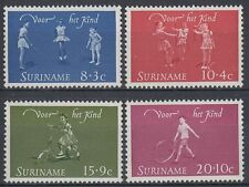 Suriname 1964 ** Mi.450/53 Kinderspiele Child Games Seilspringen [sq4895]