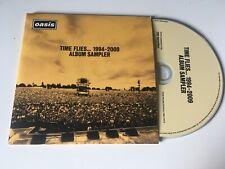Oasis 7trk PROMO CD SAMPLER Time Flies 1994-2009