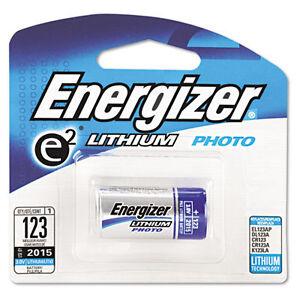 Energizer® 123 Battey (pack of 1,8 cards) (1X8=8 batteries)(Wholesale/Bulk pack)