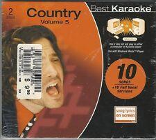 Best Karaoke - County Volume 5 (CD, Hybrid CD+G) Computer or Karaoke Player