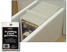 BCW TRADING CARD DIVIDERS PACK OF 10